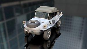 3D schwimmwagen kfz 1 20