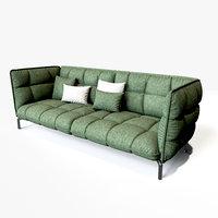 husk sofa 3D