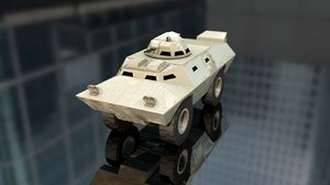 v100 armored patrol car 3D