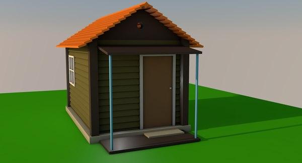 3D house designed interior