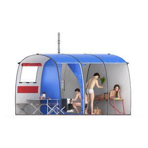 3D model - tent
