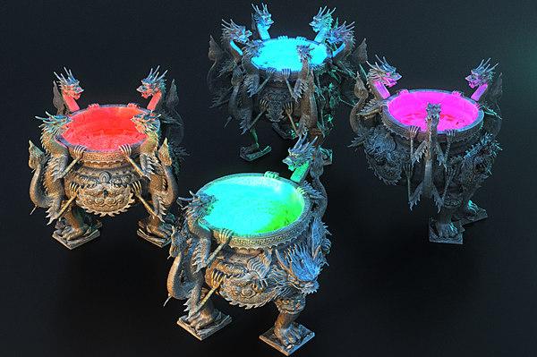 hearth dragon pack 4 3D model