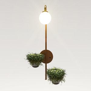 odeon light 4682 flower 3D model
