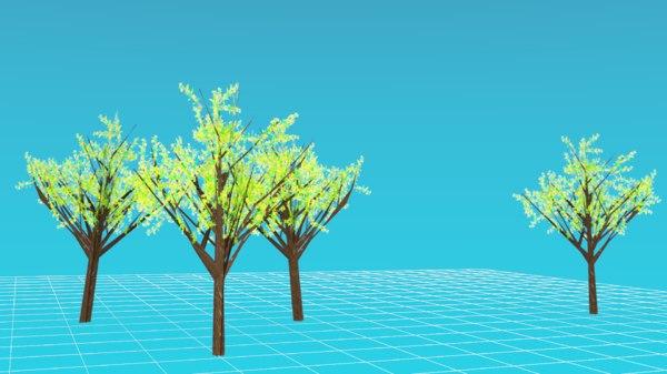 basic tree 3D model