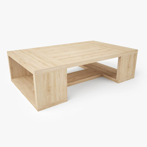 palenque coffee table 3D model