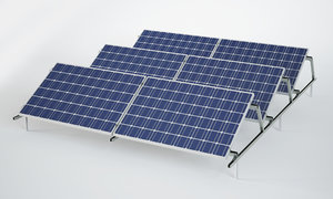 3D model sun panel