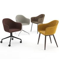 harbour chair menu 3D model
