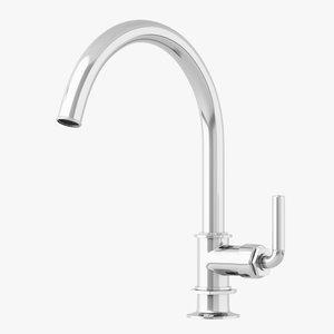 3D waterworks henry kitchen faucet