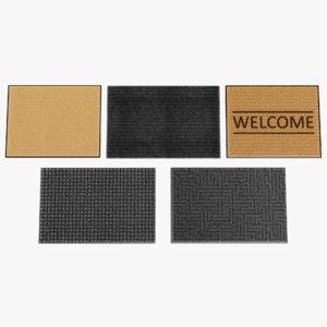 3D doormats pbr fibers