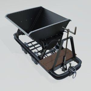 mining wagon 3D model