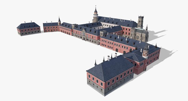 sychrov castle 3D