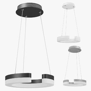 7631xx unitario lightstar pendant lamp 3D