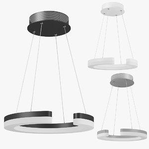 3D 7632xx unitario lightstar pendant lamp model