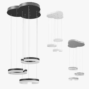 3D 7633xx unitario lightstar pendant lamp