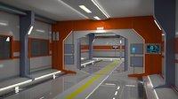 Space hallway