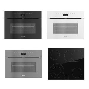 miele oven black model