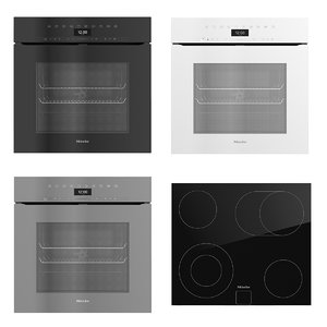 miele oven 3D