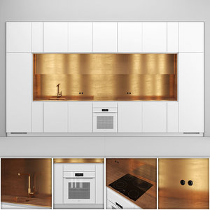 3D kitchen nel miele