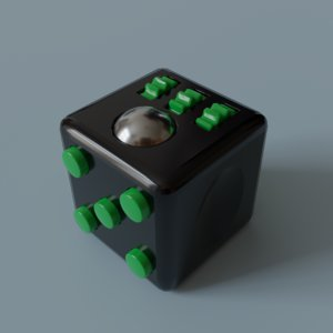 fidget cube 3D