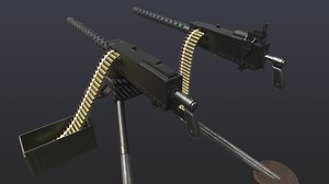 world war 2 browning 3D