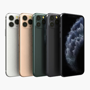 3D model apple iphone 11 pro