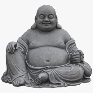 buddha maitreya statue model