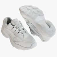 3D realistic sneakers puma model