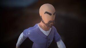 stylized prisoner 3D