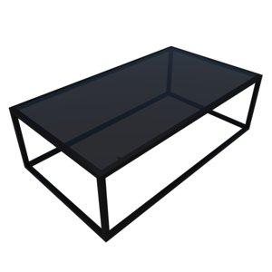 3D loft coffee table