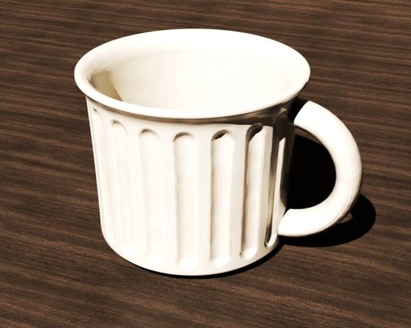 3D large mug