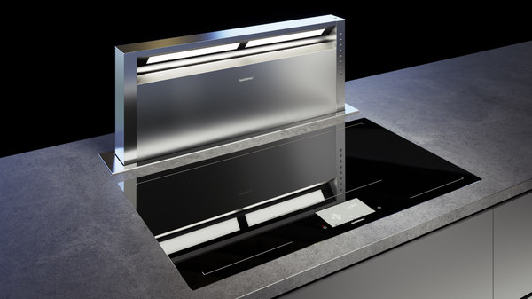 gaggenau cooktop 400 cx492100 3D model