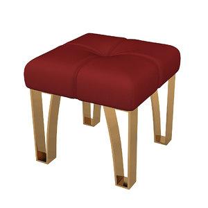 3D pouf armchair modern