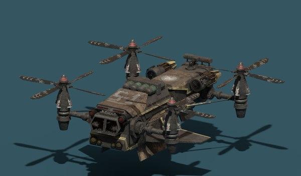 spacecraf 3D model