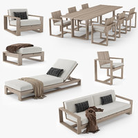Restoration Hardware Porto Furniture Collection