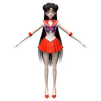 3D sailor mars model