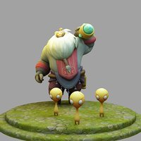 3D Model League Of Legends Championship Bard