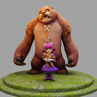 3D Model League Of Legends Championship Annie