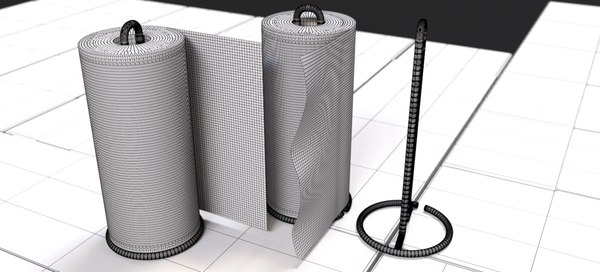 nordsk sarvik paper towel holder 3D model