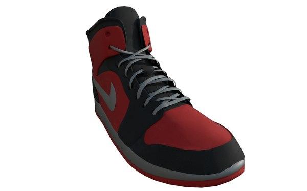 basketball shoe 3D model