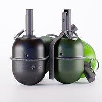 grenade rgd-5 3D