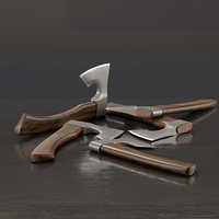 3D axe real used