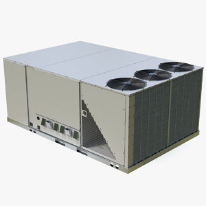 3D 3 vents rooftop air conditioning