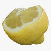 realistic lemon 3D model
