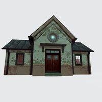 3D house interior model