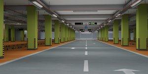 3D parking lot