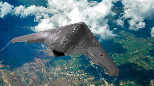 3D model future s-70 hunter sukhoi