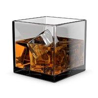 3D whiskey glass