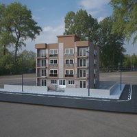 3D storey building