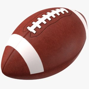 3D generic football