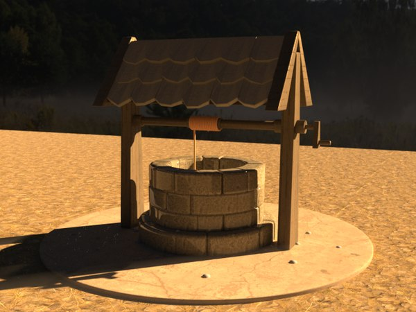 rendering water model